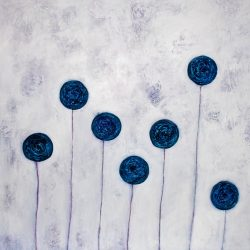 Circles of Blue- art by Rikke Kjelgaard