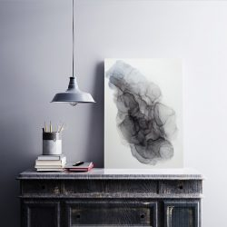 Dark Clouds - art by Rikke Kjelgaard