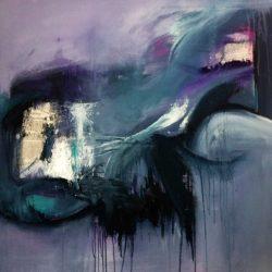 Dolphins - art by Rikke Kjelgaard