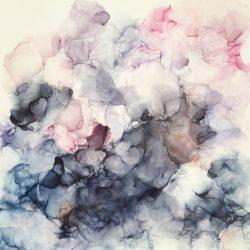 Hovering - art by Rikke Kjelgaard